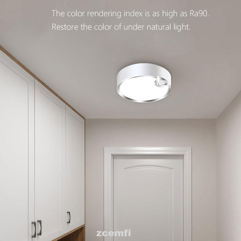 Home Battery Operated Motion Sensor Stairs Hallway Indoor Outdoor Led Ceiling Light Shopee Singapore