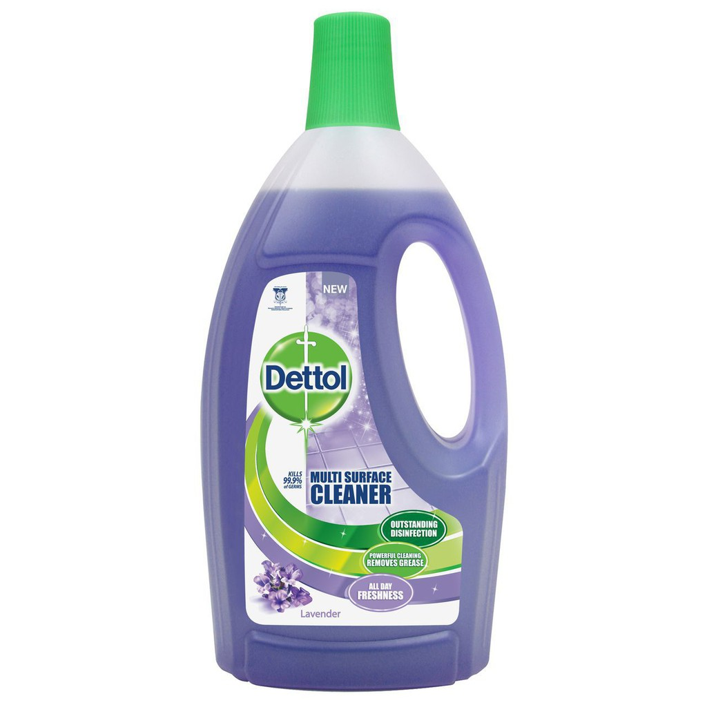 Dettol 4 In 1 Disinfectant Multi Surface Cleaner Lavender