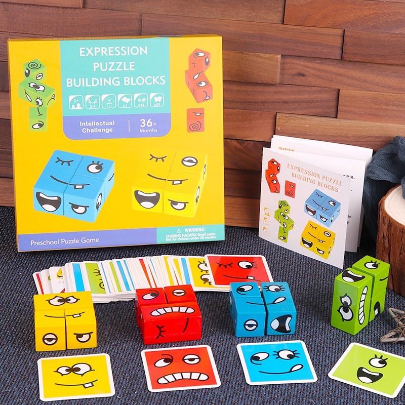 expression puzzle building blocks - logic game - children's educational  toys | Shopee Singapore