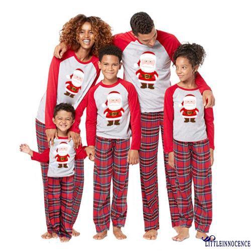 99245a56c4 New Fashion Family Matching Christmas Pajamas Set Women Mens Kids Sleepwear
