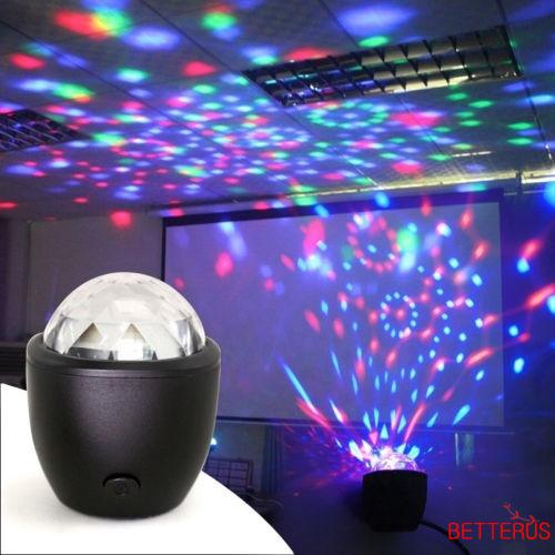 Tte Voice Control Crystal Ball Rotating