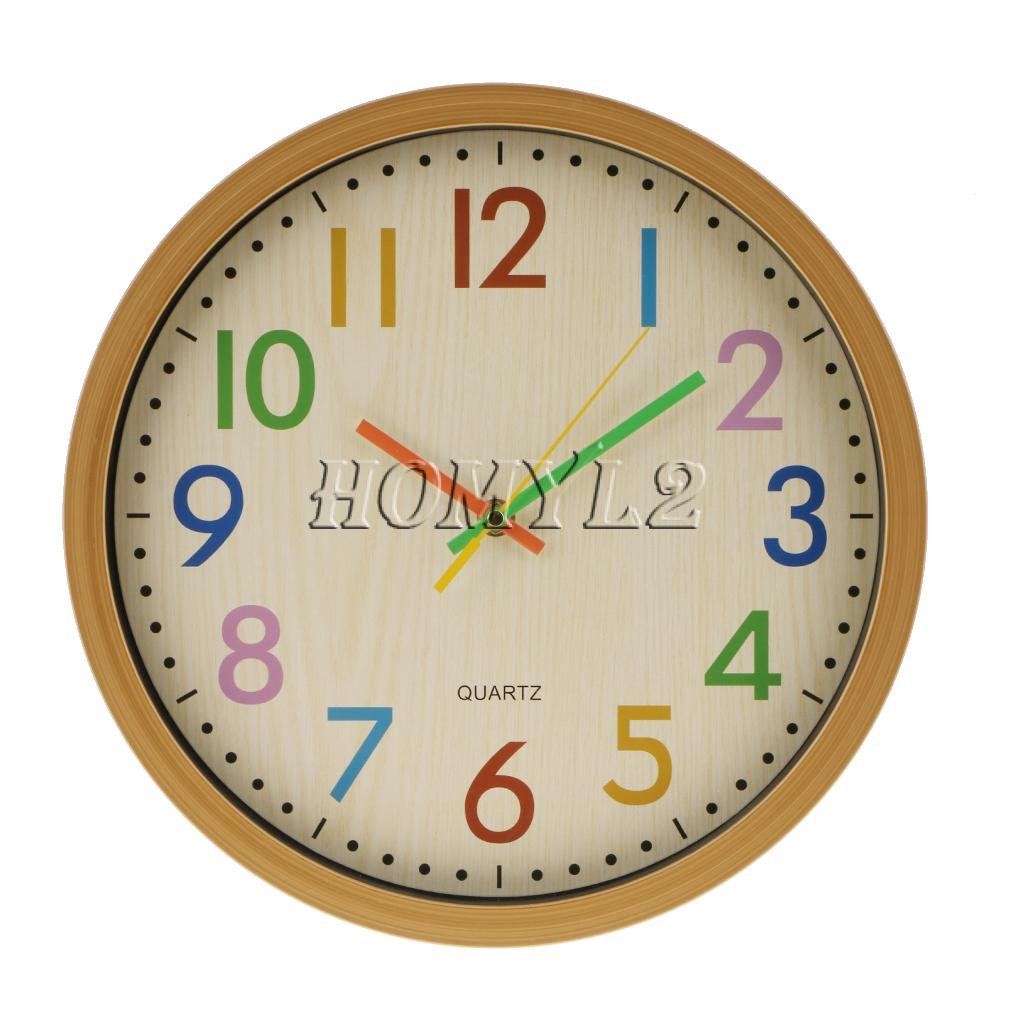 Zinc Alloy Home Lemon  Suction Clock Wall Clock Time Battery Powered Yellow