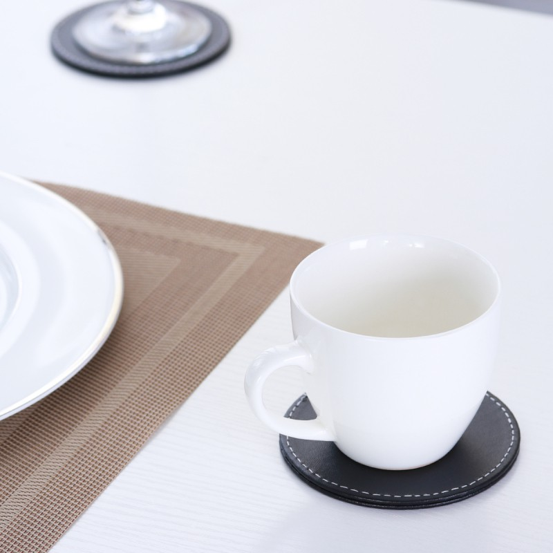 2PC Cute Hello Kitty Drink Coaster Tea Coffee Cup Mat Pad Table Desk Decor Gift