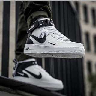 huge selection of b1fcd 07025 Nike Airforce 1 Lv08 Mid Utility White | Shopee Singapore