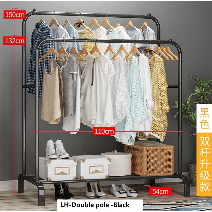 3195eed6b 3804 Korean Standing Pole Clothes Rack - Open Concept Closet Walk in  Wardrobe | Shopee Singapore