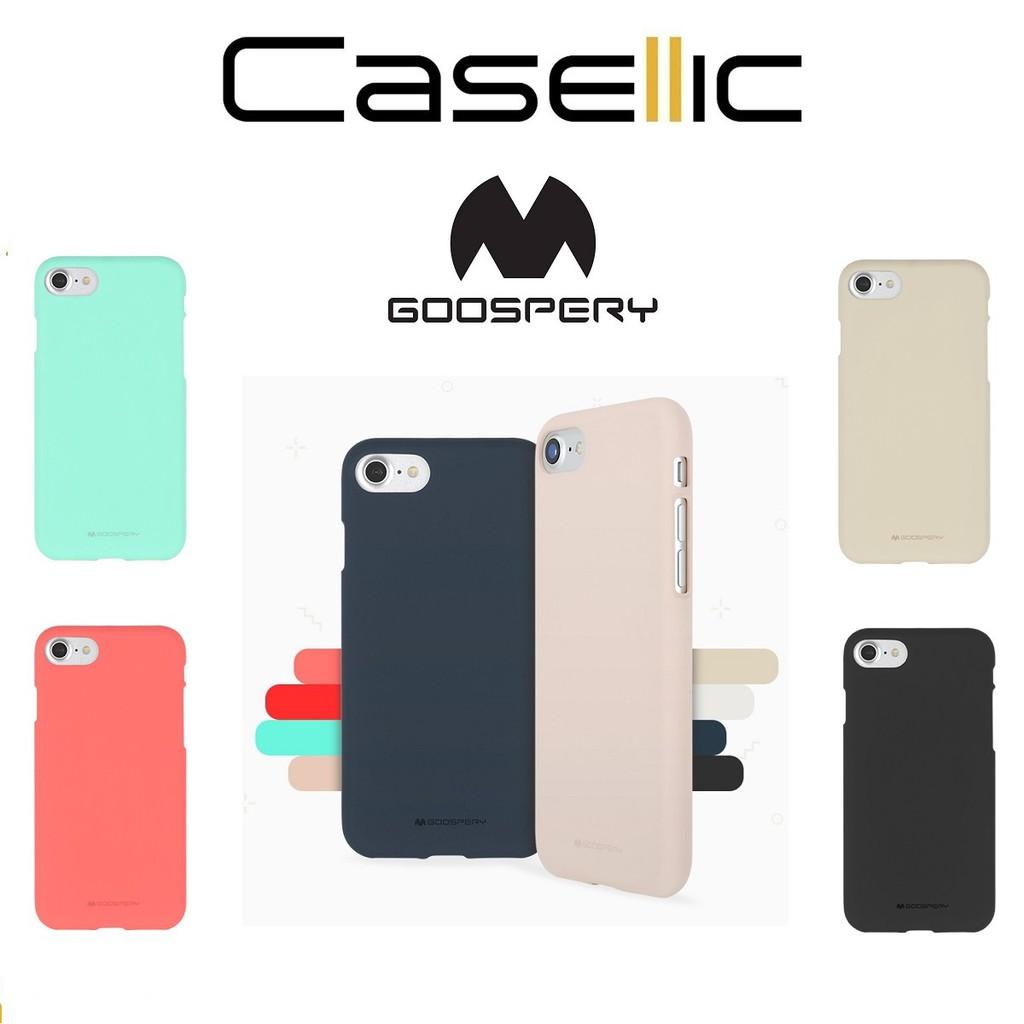 Goospery Mercury Color Pearl Jelly Case Iphone 8 7 4s 5 5s 6 6s S8 Plus Blue Moon Flip Hotpink Shopee Singapore