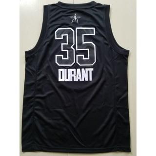 super popular 2d6bb e6df5 NBA Jersey Basketball Suit Warriors All-Star Black No. 35 ...
