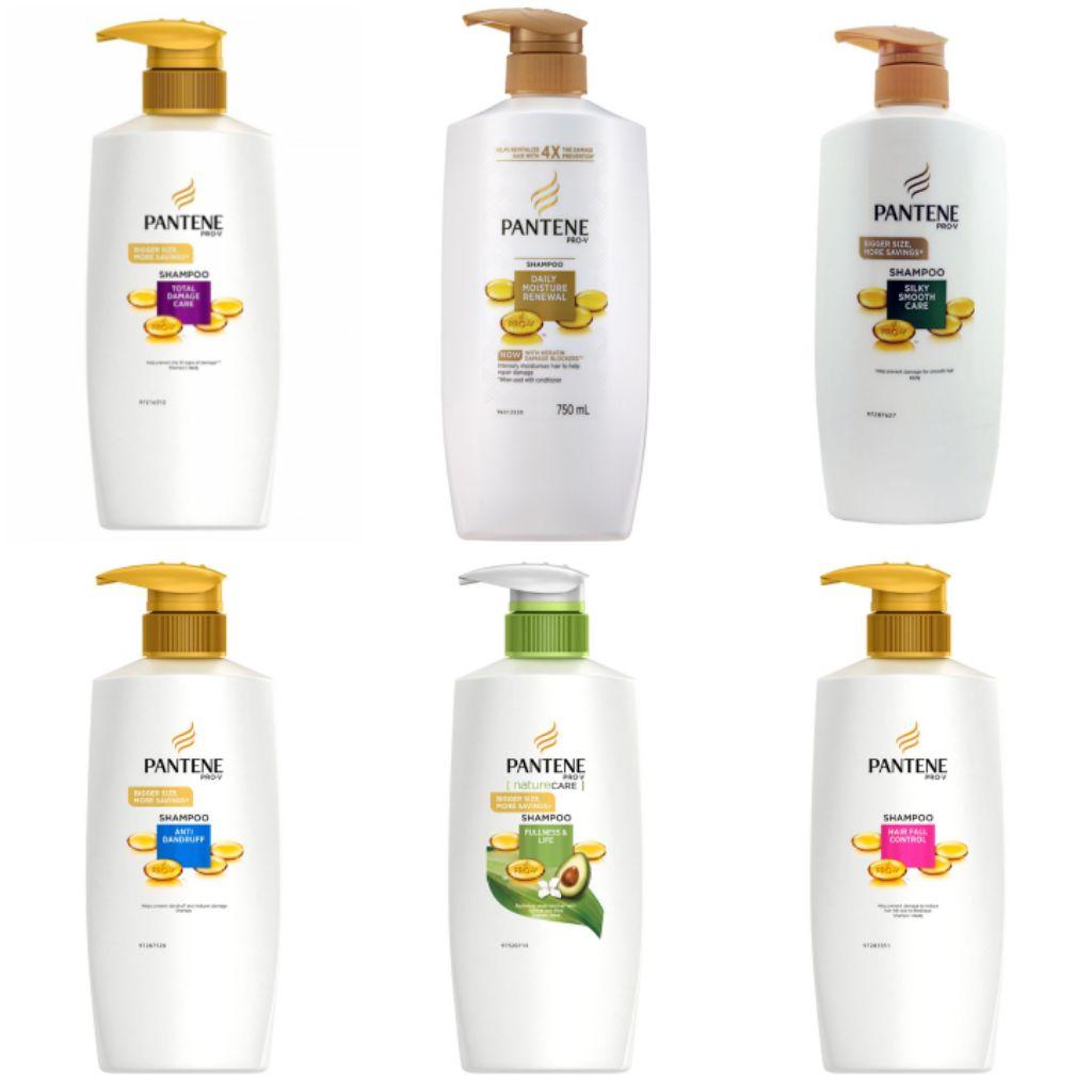 Pantene Pro V Shampoo 750ml Shopee Singapore Sampo Hairfall Control