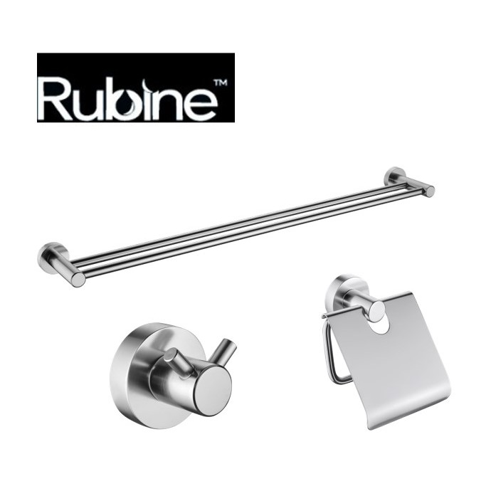 Rubine Bathroom Accessories Set 3in1