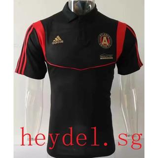 half off 30d9f eb05c 1819 Atlanta United Men Polo soccer jerseys short sleeve football jerseys