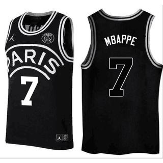 buy online c784a d1b9c Sale #7 Mbappe 18-19Paris Saint-Germain Basketball Jersey ...