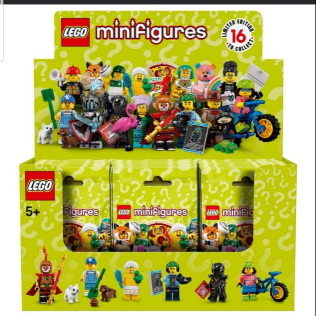 Lego 71025 Minifigures Series 19 Box of 60