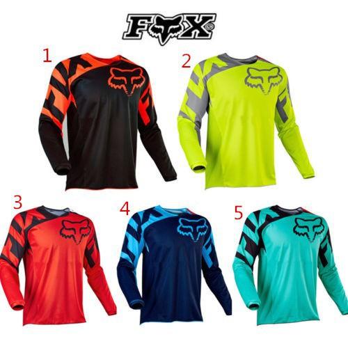 Hot New Fox race Riding Jersey T-shirts Men Motocross//MX//ATV//BMX//MTB Dirt Bike