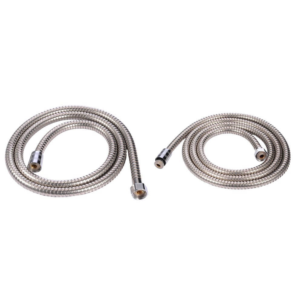 Shower hose leaking at top stainless steel washer and dryer