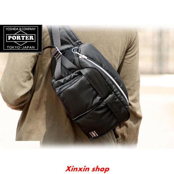 🌟LOCAL SG STOCK 🌟 Porter Cross Body Tanker Large Bag  23662d3431304