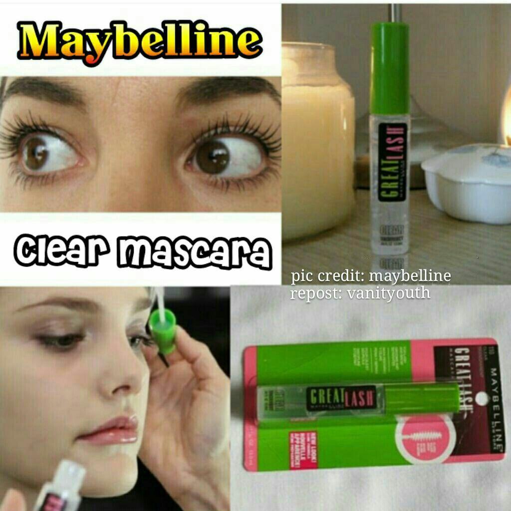 362f4b0edeb 🎆20% + SALE🎆Maybelline Great Lash Clear Mascara -110 Clear | Shopee  Singapore