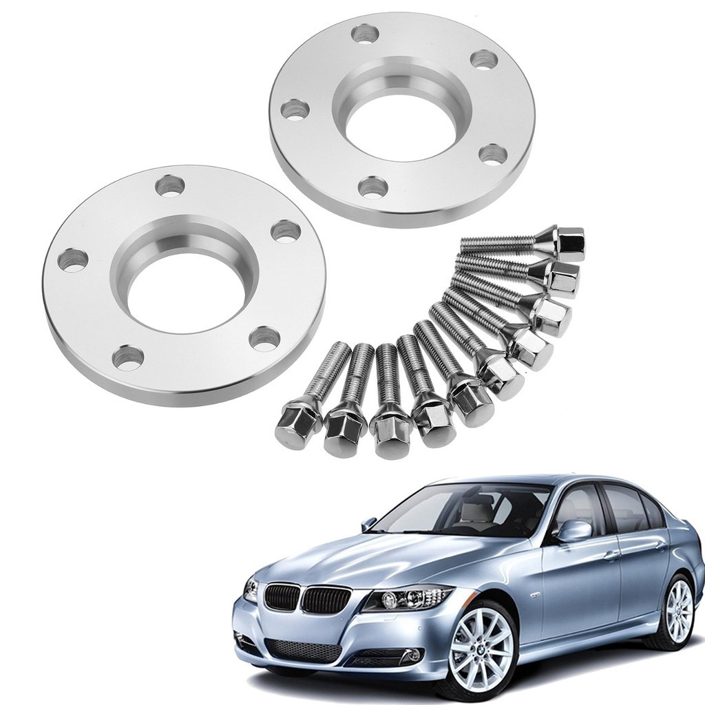 Hot Sale For Bmw Hubcentric 15mm Wheel Spacer Kit Bolts 5x120 Pcd 72 6 C B Shopee Singapore