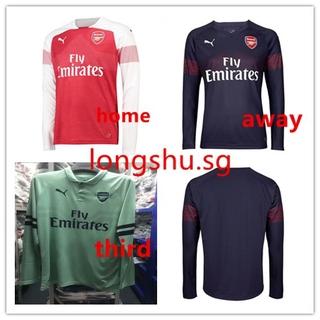best cheap 0197d a657b 2018-2019 Arsenal Home away third Long Sleeve Soccer Jersey ...
