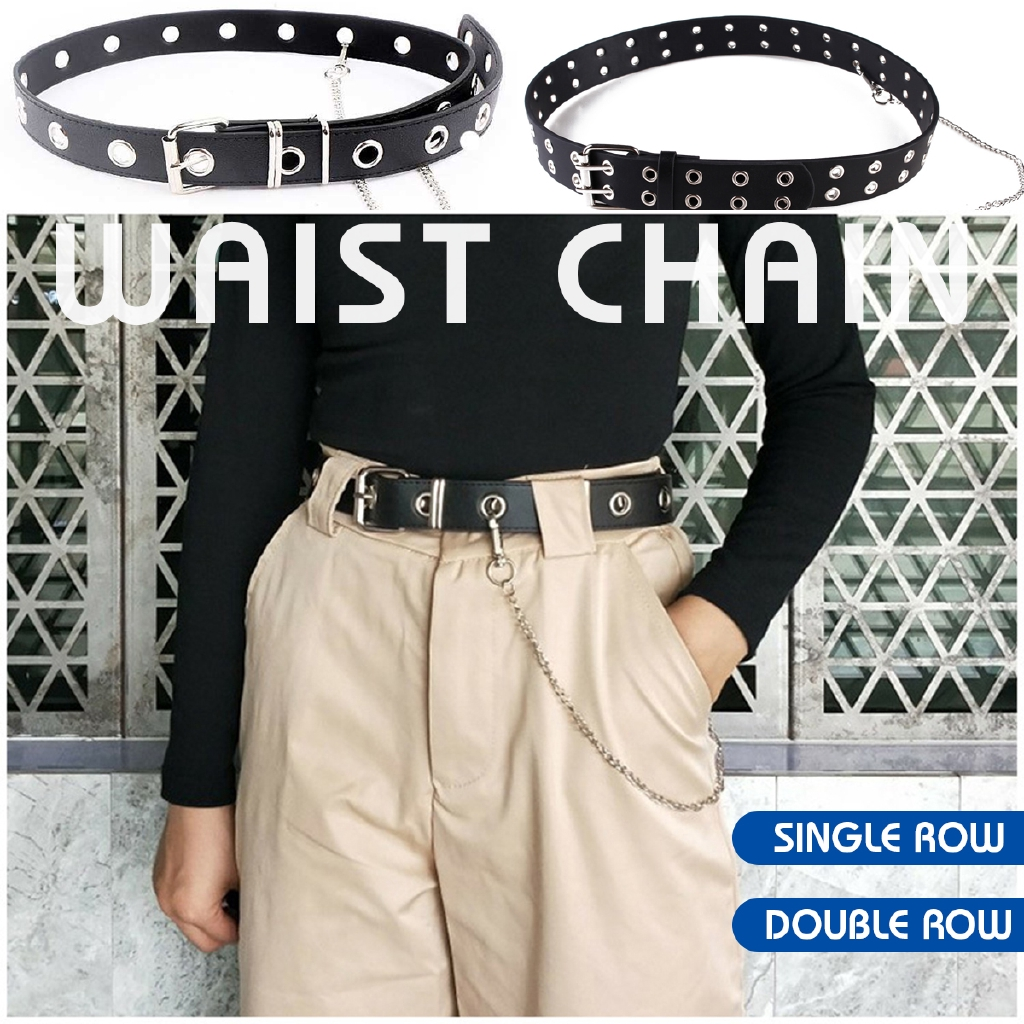 4b6386de840 W Rivet Garter Adjustable Belt Sexy Harajuku Suspender Elastic PU Leg Heart