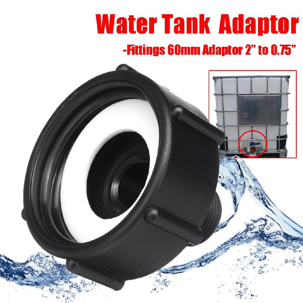1000L IBC Water Tank Garden Hose Adapter Fittings 60mm Adaptor