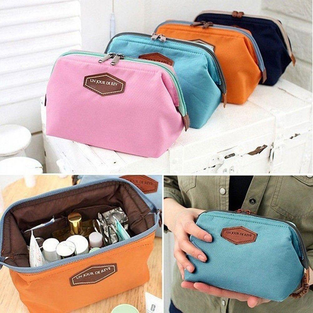 1ac512054ef3 Women Makeup Cosmetic bag Organizer Toiletry Storage Travel Handbag
