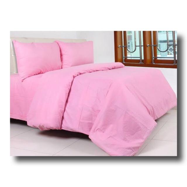 Plain Baby Pink Bed Sheet, Plain White Baby Bedding