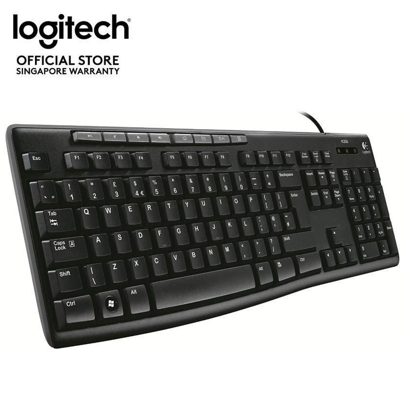 Logitech USB Media Keyboard K200