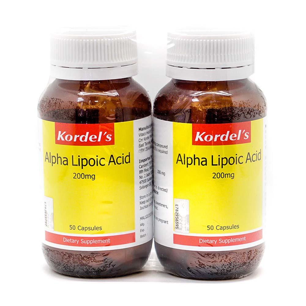 Kordel's Alpha Lipoic Acid 2 x 50's