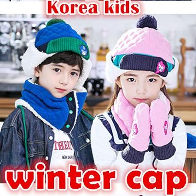 ba971c87896 Korea kids winter caps child travel winter wear hat