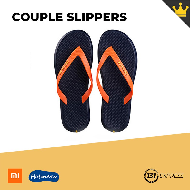 Hotmarzz Womens and Mens Unisex Comfort Cotton Rubber Material Slip On House Home Slippers