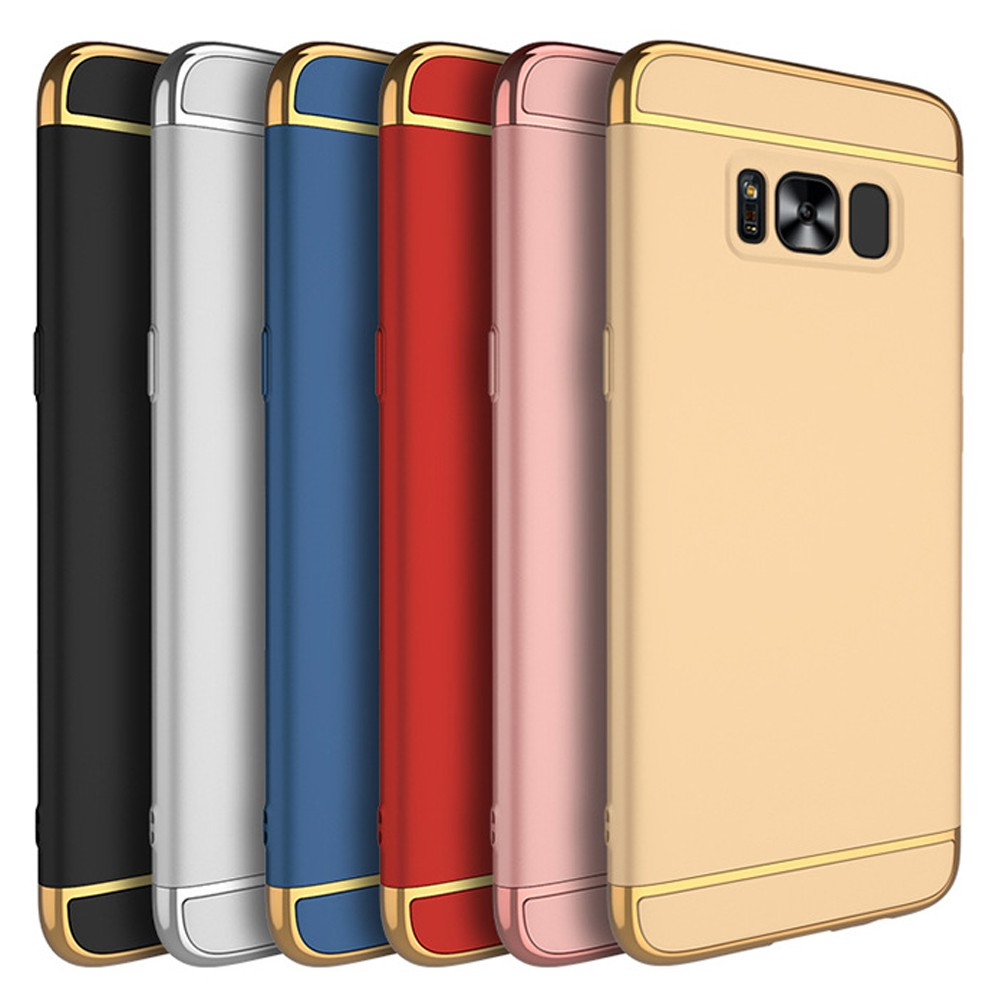 Samsung Galaxy S7 Edge Hard Back Case 3 In 1 Design Plating Frame 2in1 Squishy Mirror Metal Bumper Oppo F1s Cover Shopee Singapore