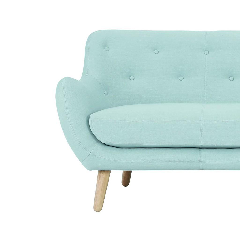 Groovy Alfa 3 Seater Sofa With Oak Leg Aquamarine Living Room Unemploymentrelief Wooden Chair Designs For Living Room Unemploymentrelieforg
