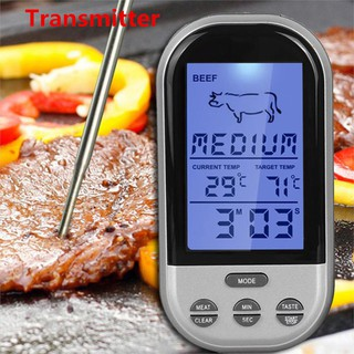 Thermopro Tp 20 Wireless Remote Digital Cooking Food Meat Thermometer For Grilling With Dual Probe Shopee Singapore