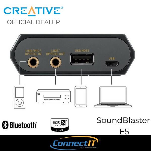 Creative Sound Blaster E5 24bit / 192kHz USB DAC portable headphone