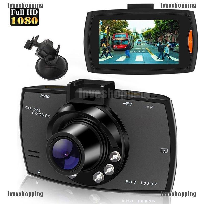 720P HD Car DVR Dash Vehicle Camera Video Recorder Cam Night Vision G-Sensor MA