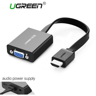 Ugreen HDMI to VGA Converter Adapter Digital to Analog Video Audio Cable