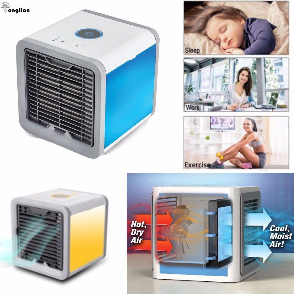 New Personal Air Conditioner Mini Cool For Bedroom Portable Artic Cooler Fan Shopee Singapore