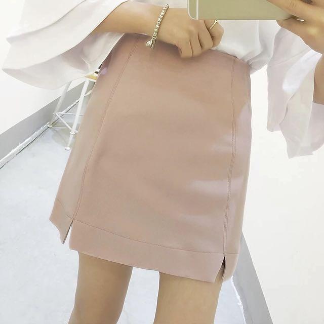 1ddd49243d Love and Bravery Janae Basic Pencil Skirt Dusty Pink | Shopee Singapore