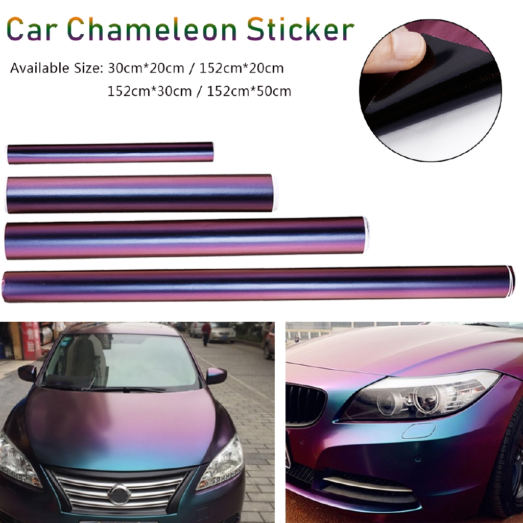 Icy Chrome Matt VINYL WRAP SHEET  Car Sticker Sheet Bubble Air【200MM X 1520MM】