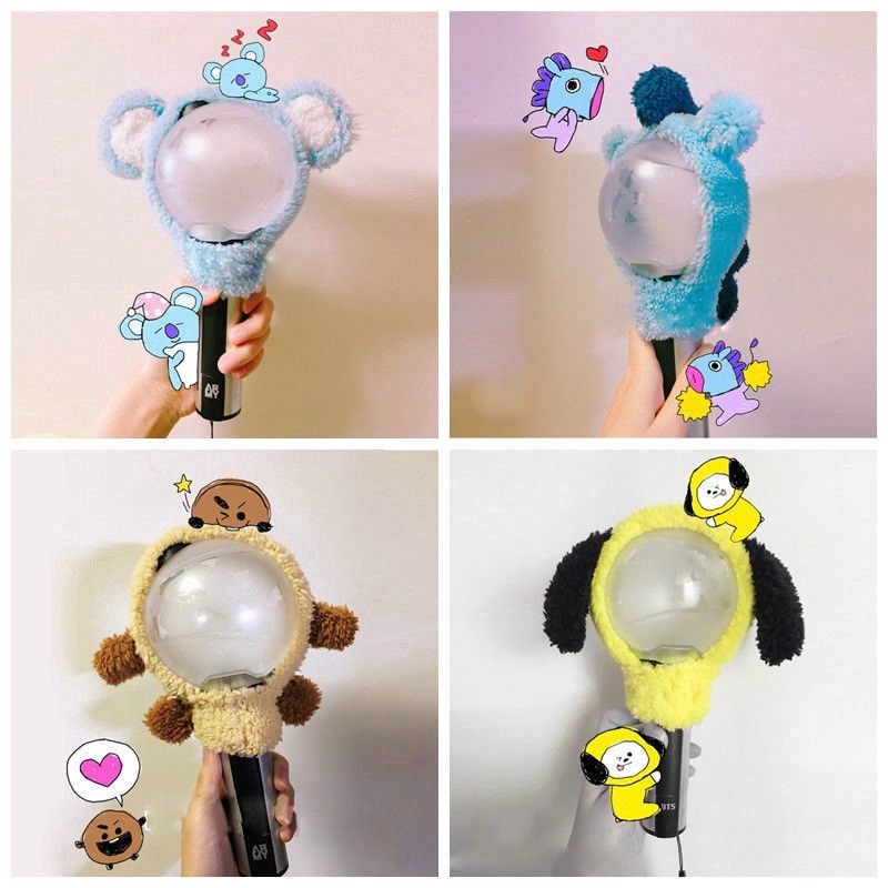 Jewelry Findings & Components Kpop Seventeen Cute Cartoon Lightstick Headband The8 Dk Light Stick Plush Head Cover Carat Gift Jewelry & Accessories