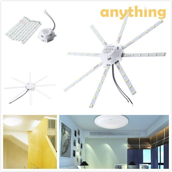 220V 5730SMD 56LED 500LM Octopus Bedroom Ceiling Panel Light Module Lamp Board