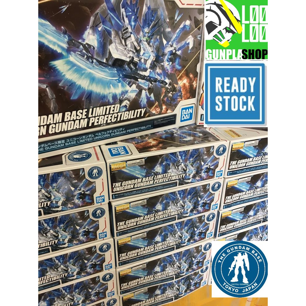 Gundam Base Limited Mg 1 100 Unicorn Gundam Perfectibility Destroy Mode Full A Shopee Singapore