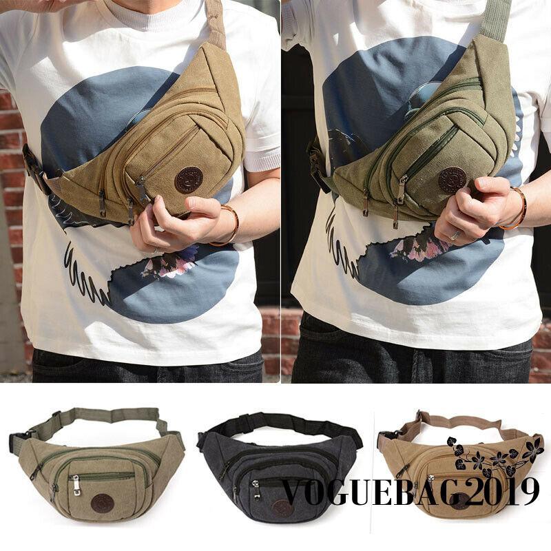 c2cd8e7d7bdb ✤-Waist Fanny Pack Belt Money Bag Pouch Travel Sport Hip Purse Men Women Bum