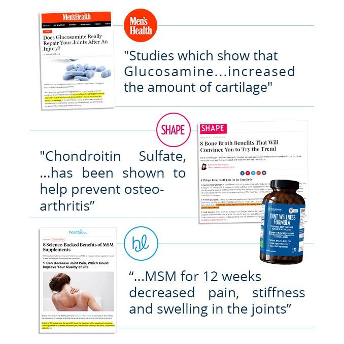 Nano SG Glucosamine Triple Strength 1500mg [120 caps 2