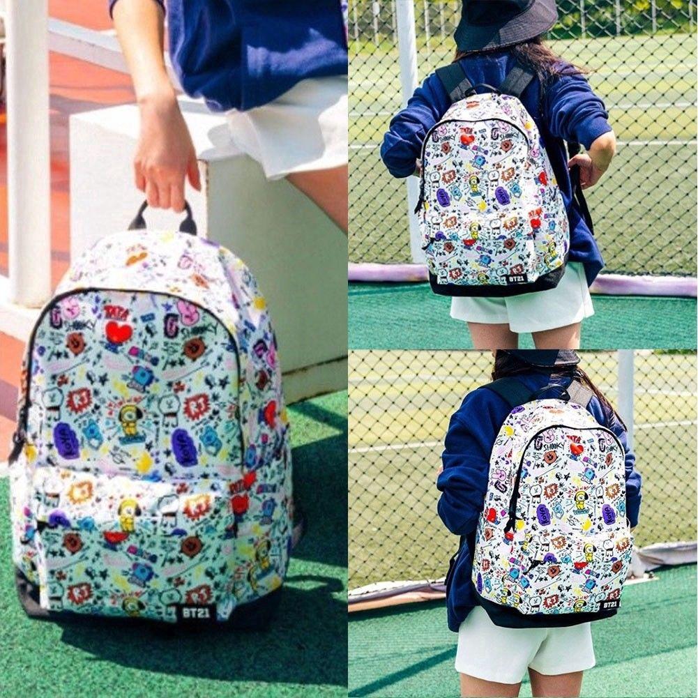 b68d3f6d950b omdomd🔥Unisex 4 IN 1 Set Supreme Backpack Korean School Bag Travel Bag
