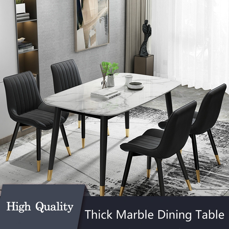 Marble Dining Table Home Luxury Nordic