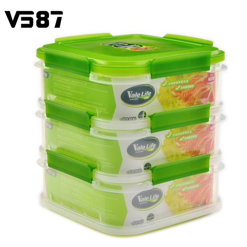 Multi Purpose Storage Box Plastic Kitchen Three Layers Organizer