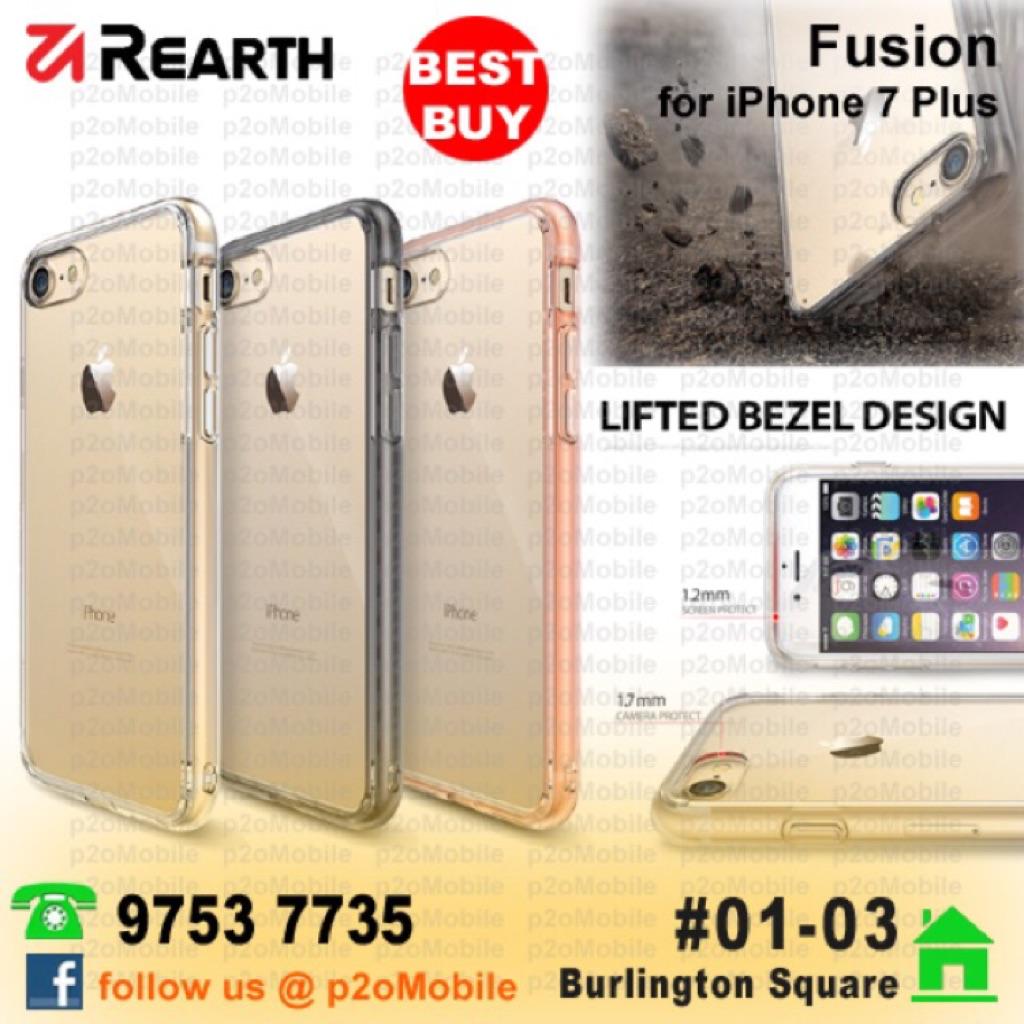 Galaxy S7 Rearth Ringke Fusion For Samsung Shopee Singapore Iphone 7 Edge Black