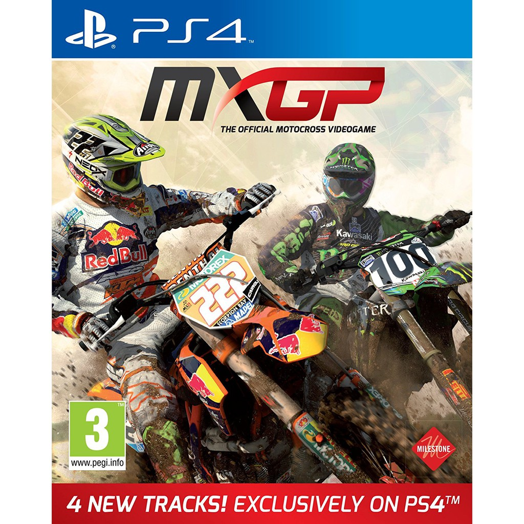 Ps4 Mxgp 3 The Official Motocross Videogame R2 Shopee Singapore Game Mx Gp 2