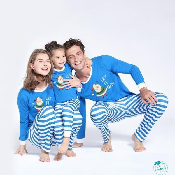 Christmas Family Pajamas Set.Hh Cotton Christmas Family Pajamas Set Adult Women Kids Sleepwear Nightwear